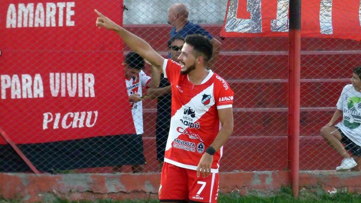 El delantero del Deportivo Maipú