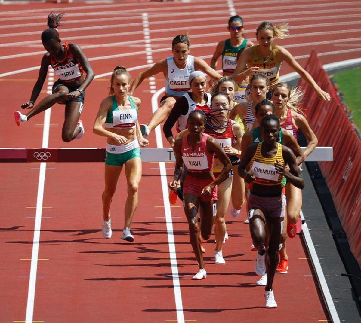 Belén Casetta no pudo avanzar en los Juegos Olímpicos 2021.