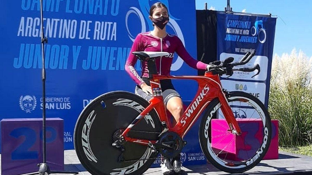 Julieta Benedetti le dio a Mendoza una medalla dorada