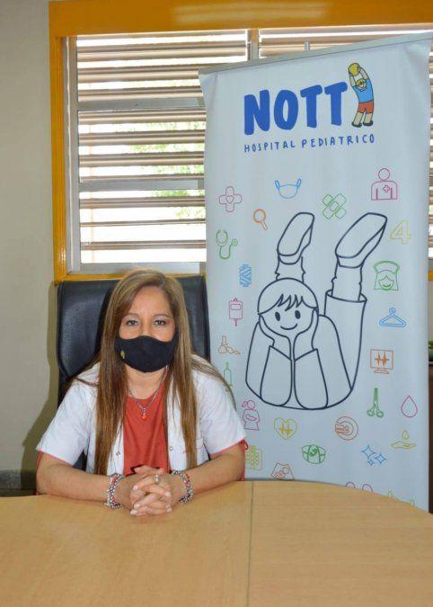 La pediatra Beatriz Montenegro será la nueva directora del hospital Ramón Carrillo