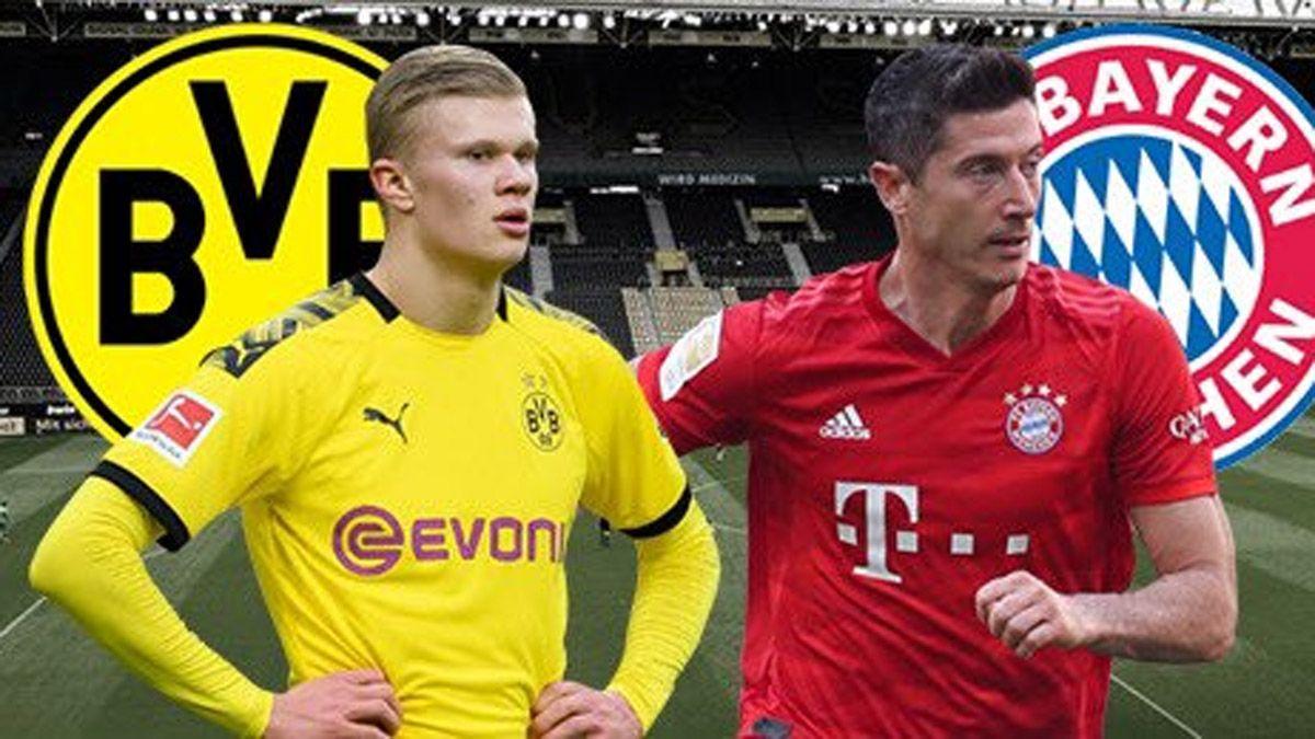 Lewandowski vs. Haaland: se viene el clásico Bayern-Dortmund