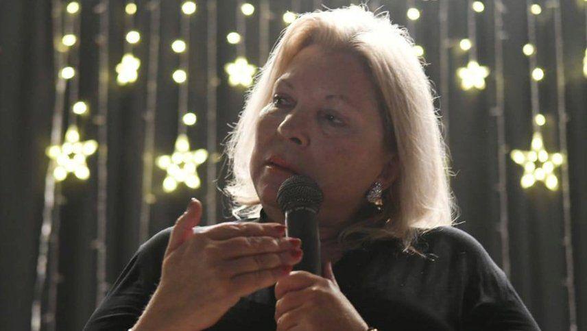 La última semana de Lilita Carrió como diputada