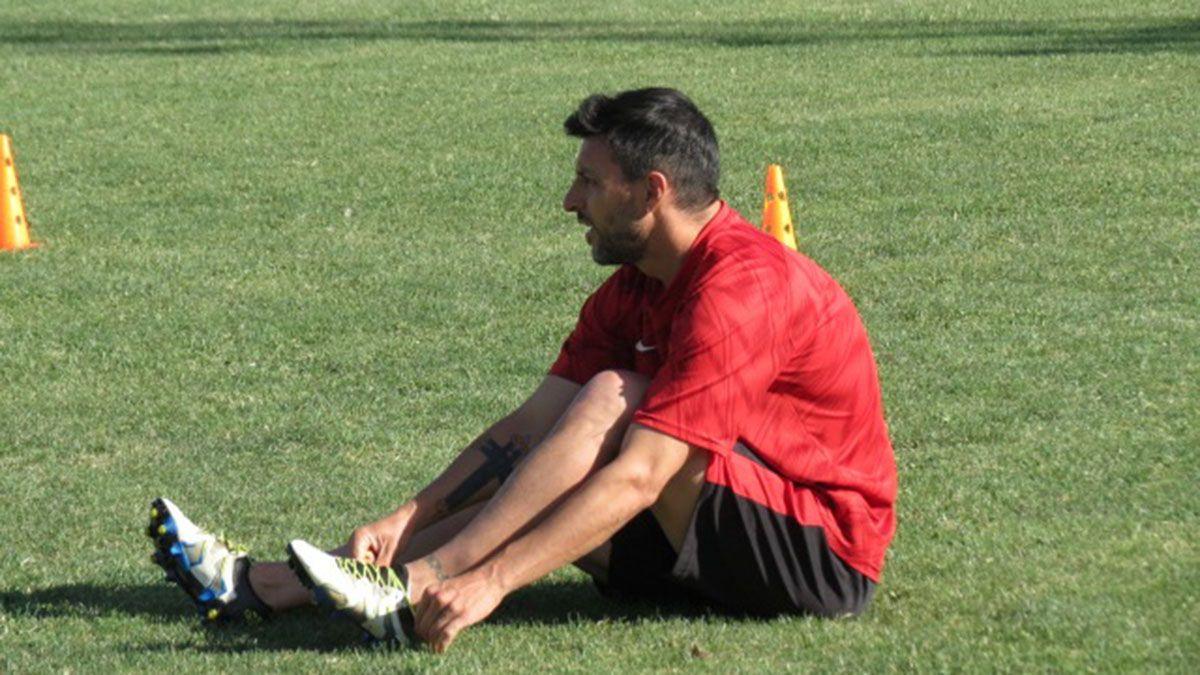 Nicolás Aguiire destacó que FADEP le devolvió las ganas de seguir jugando. (Foto Gentileza Prensa Fundación).