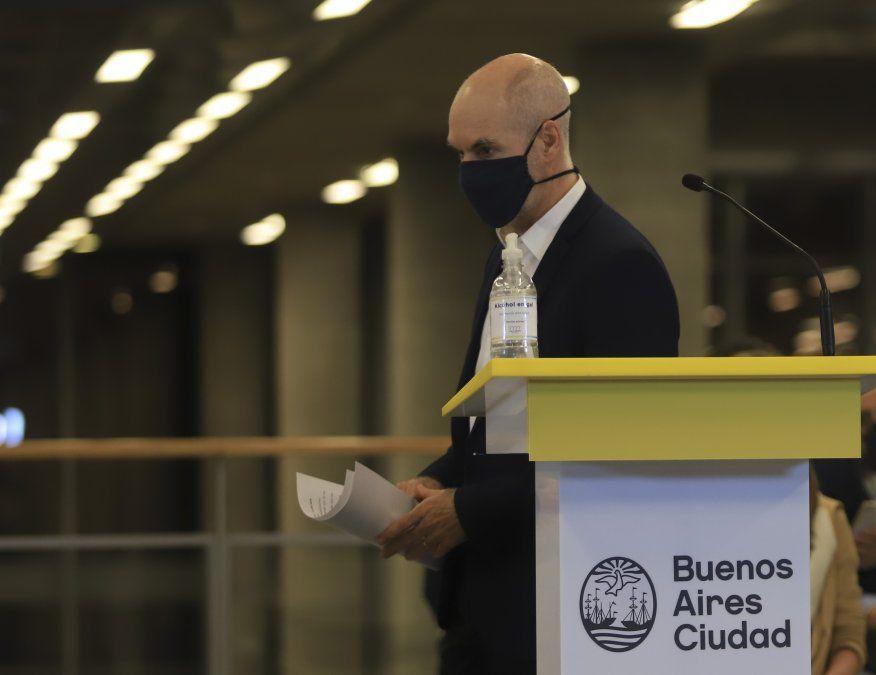 Rodríguez Larreta anunció que irá a la Corte a reclamar por los fondos.