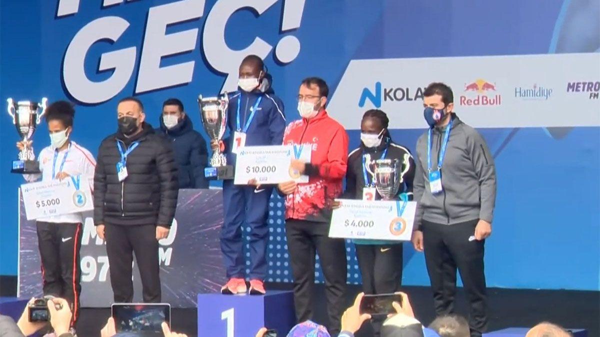 La keniana Ruth Chepngetich, con nuevo récord mundial de medio maratón