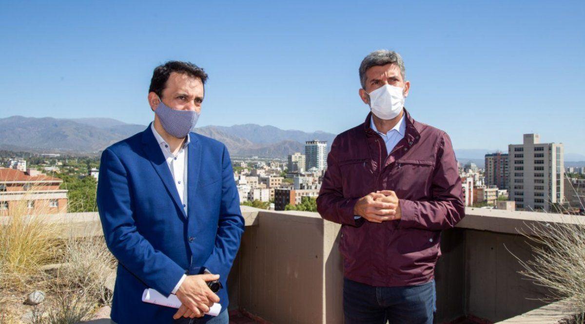 Los intendentes Tadeo García Zalazar