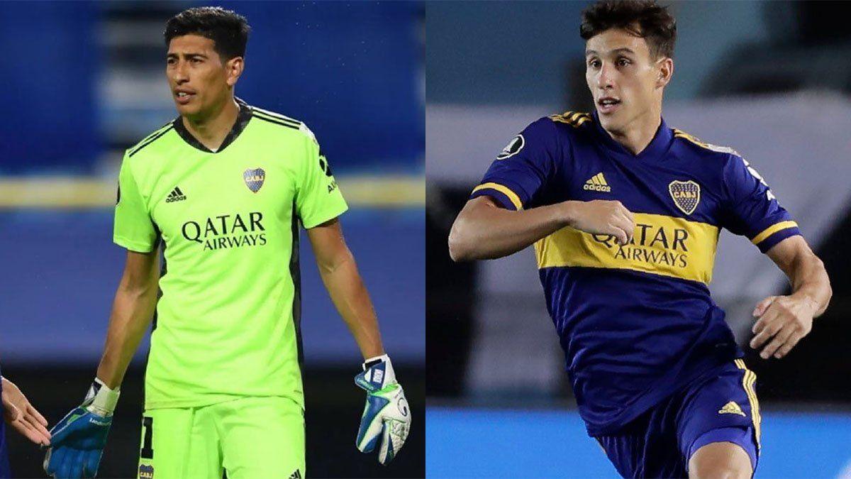 Andrada y Capaldo serían los primeros en emigrar de Boca.