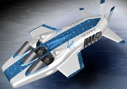 Necker Nymph, el avión submarino