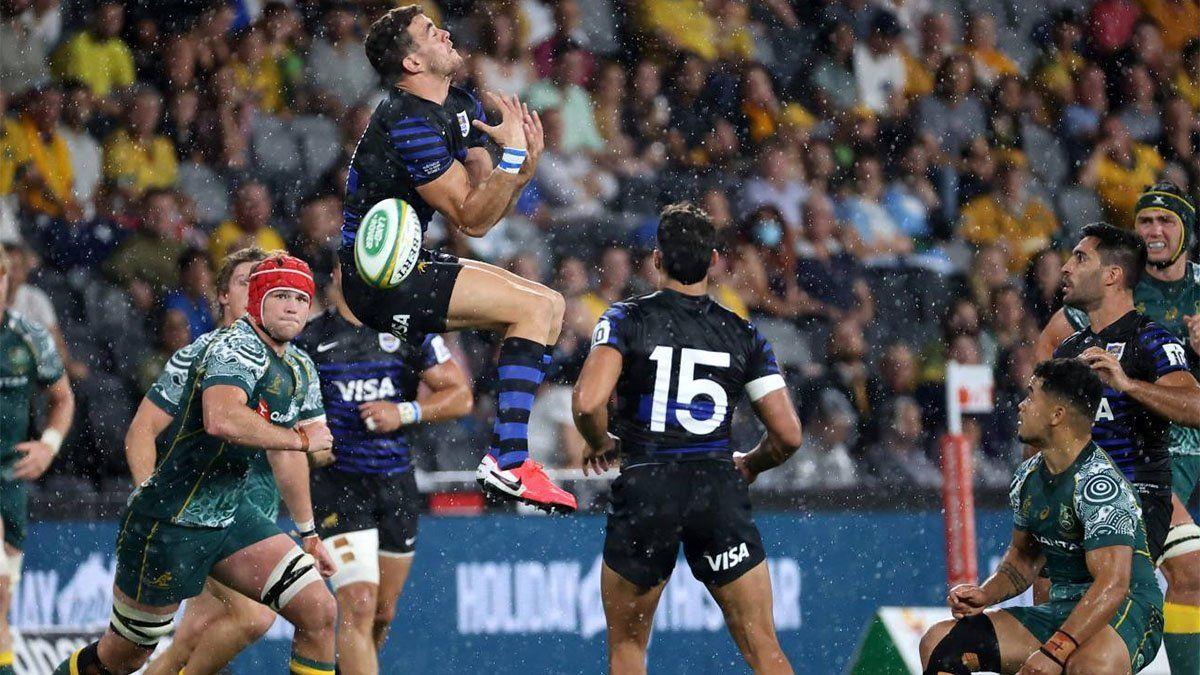 Los Pumas empataron con Australia y fueron segundos en el Tres Naciones