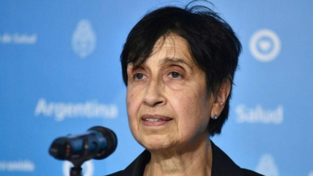 La infectóloga Silvia González Ayala.