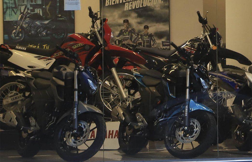 Si bien el patentamiento de motos creció 22