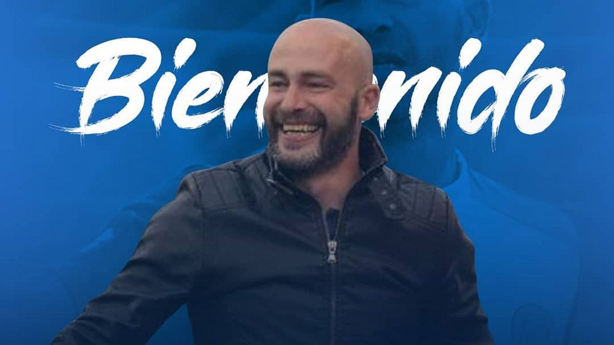 El Tomba oficializó al Gallego Méndez como nuevo DT