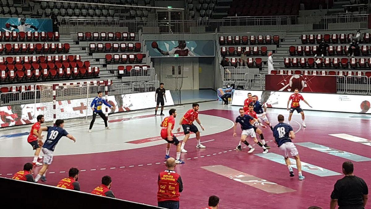 Los Gladiadores perdieron por dos ante España