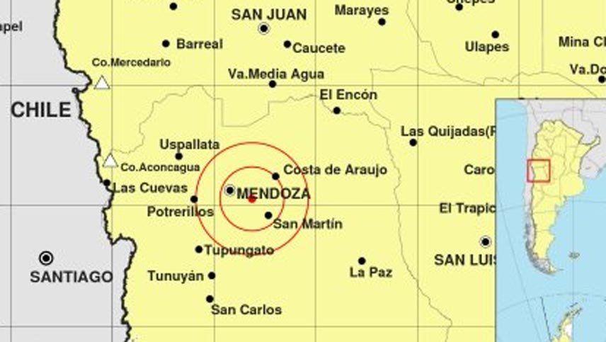 Hubo once temblores en Mendoza en menos de 24 horas