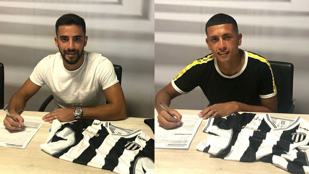 Gabriel Vallés y Franco González firmaron con Gimnasia
