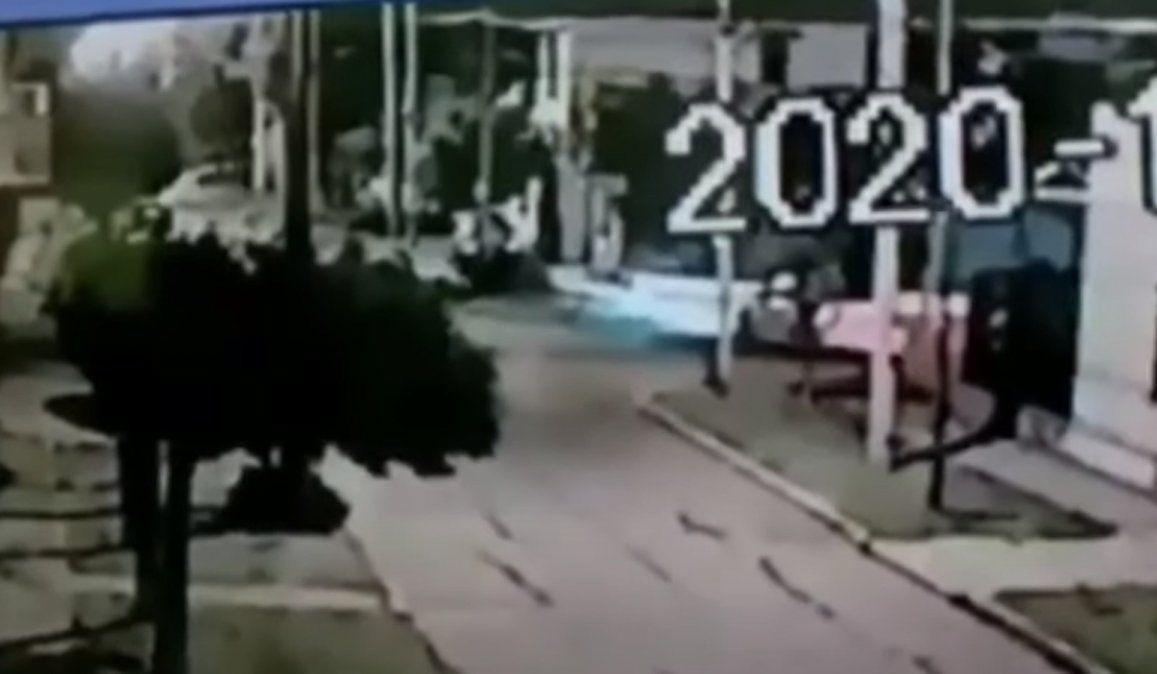 Video: así fue el accidente de Tobio: murió una mujer