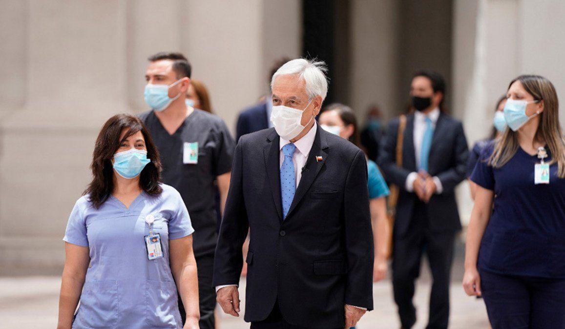 El presidente de Chile Sebastián Piñera afirmó que su gobierno apunta a vacunas a 5 millones de personas durante el primer trimestre de 2021