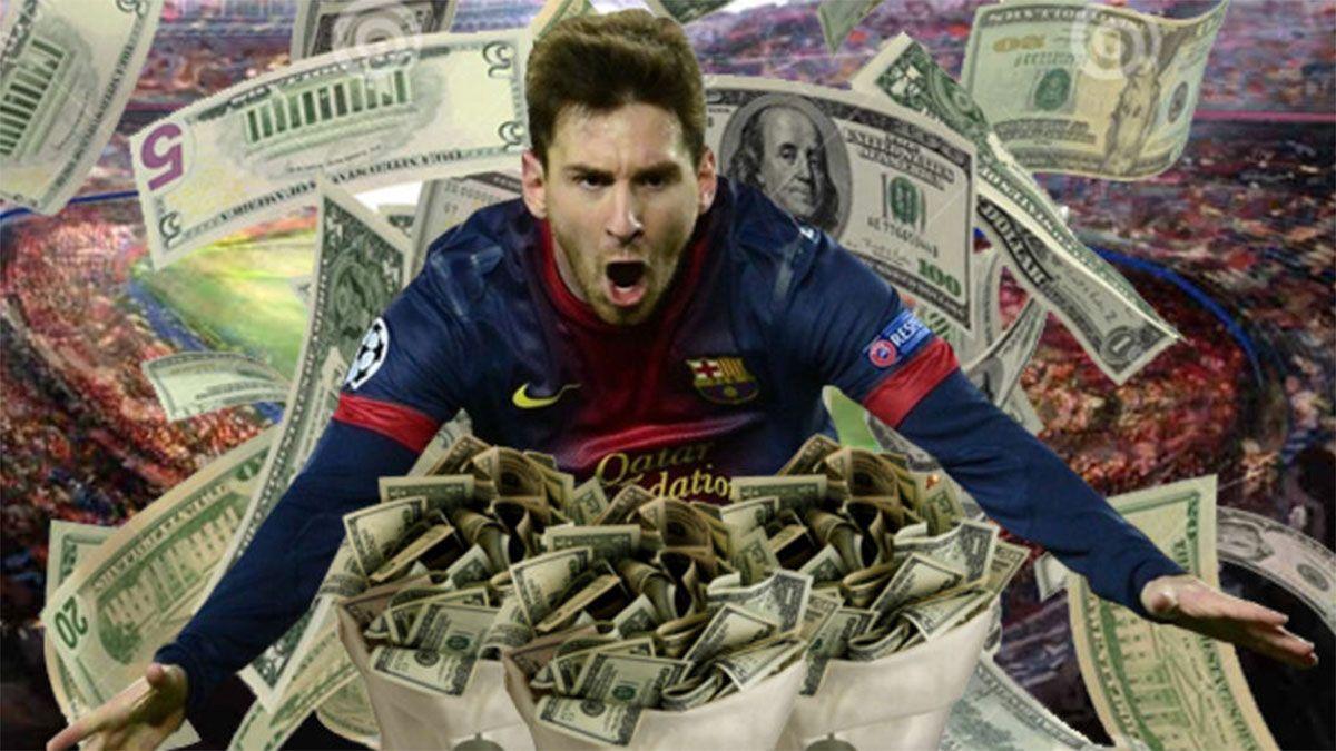Messi, segundo en la lista de ganancias