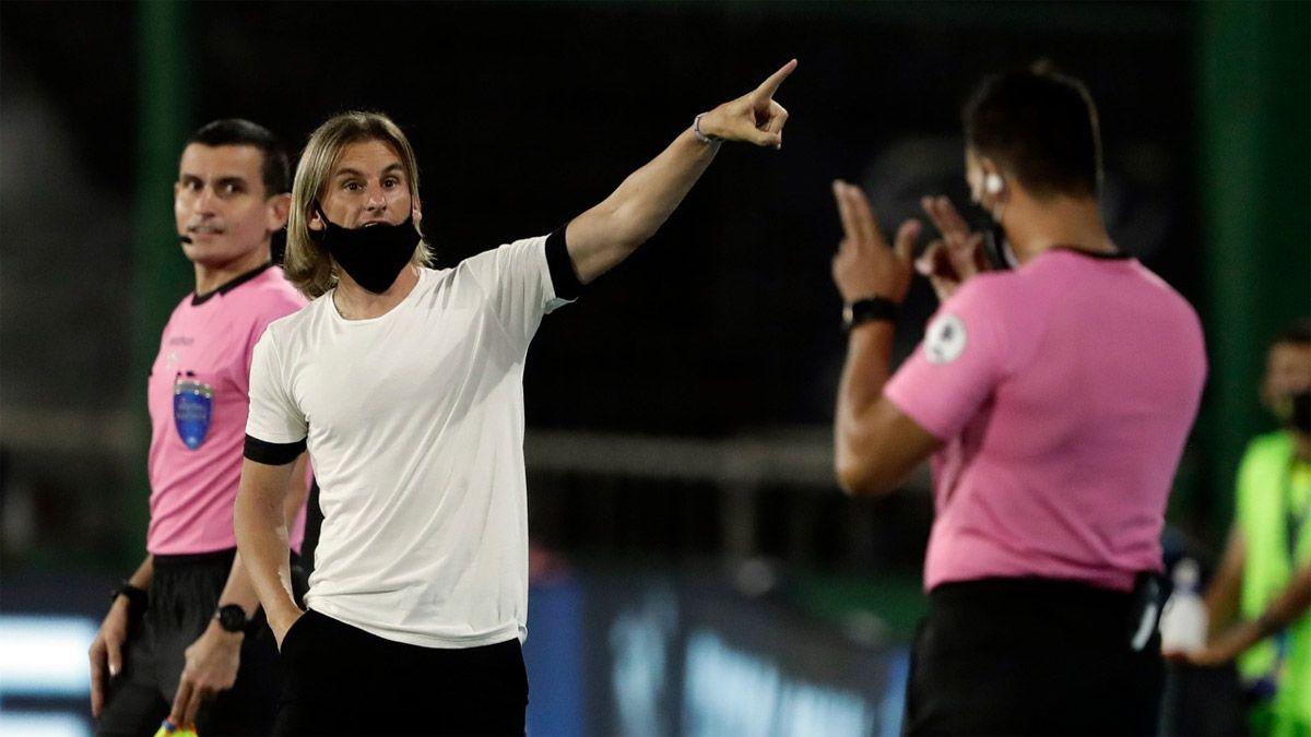 Defensa y Justicia no tuvo una buena noche ante Palmeiras