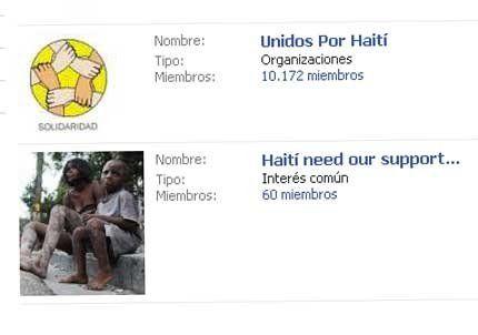 Haití moviliza las redes sociales
