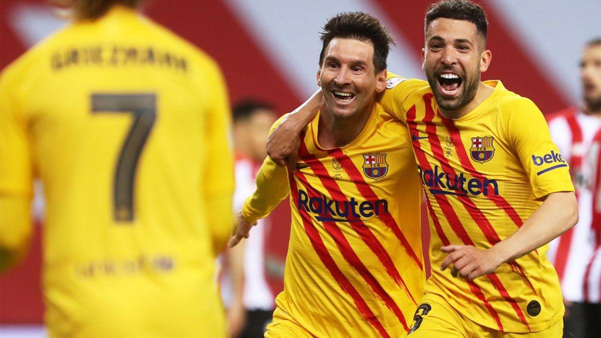 Barcelona, con un Messi brillante, ganó la Copa del Rey
