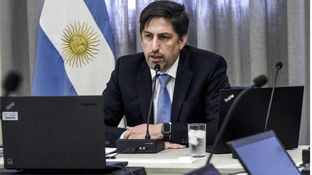 Nicolás Trotta. El ministro de Educación partidipcar del Congreso Pedagógico de Mendoza.