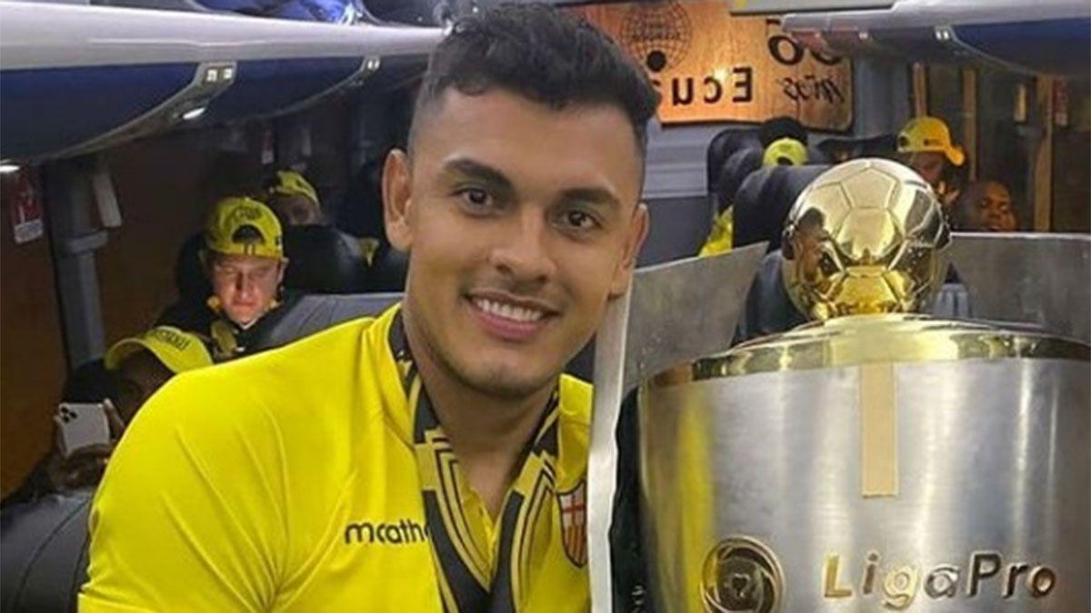 Cristian Colmán jugó en Barcelona de Ecuador.