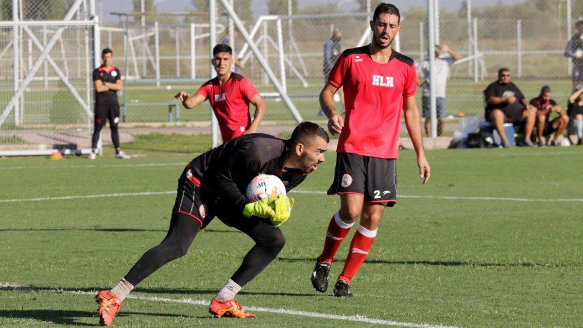 Luciano Silva busca tener continuidad en Huracán Las Heras.