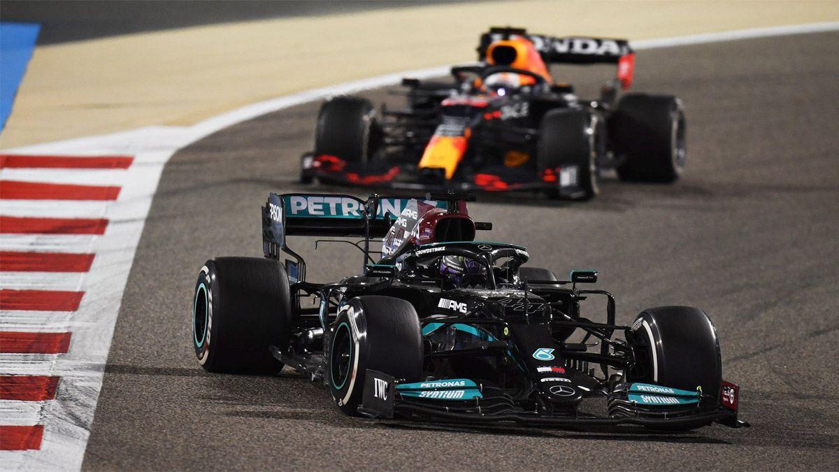 Hamilton se llevó un verdadero carrerón en Bahrein