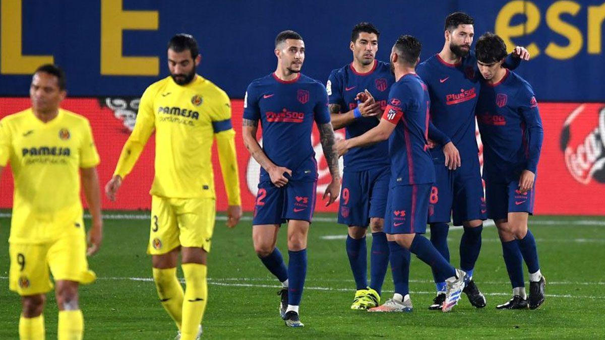 El Atlético de Madrid estiró diferencias en la punta
