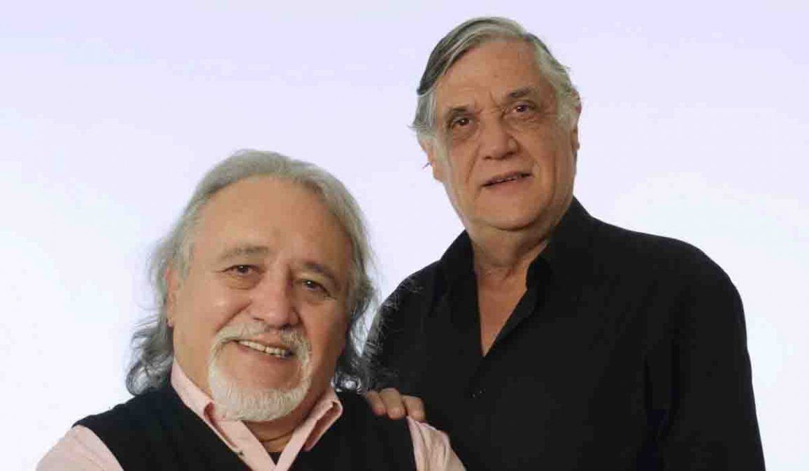 Pocho y Jorge Sosa.
