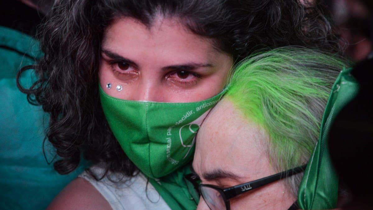 Así fueron los festejos en Mendoza por el aborto legal