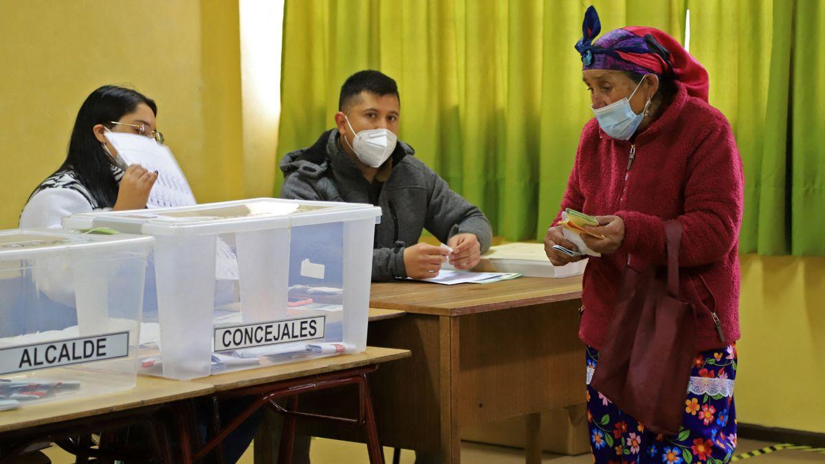 Las elecciones de constituyentes se realizarons durante dos dias en Chile.