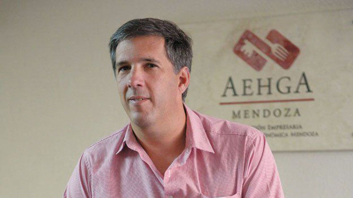 El vicepresidente de la Asociación Empresaria, Hotelera, Gastronómica y Afines (AEHGA), Edmundo Day.