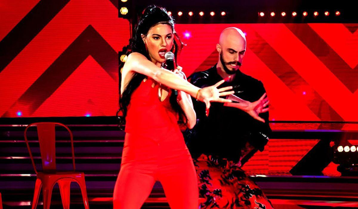 Sofía Jujuy Jimenez y Nacho Saraceni.