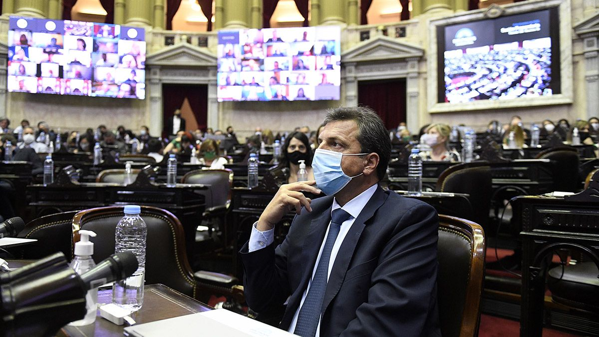 Massa fue reelecto como presidente de la Cámara de Diputados