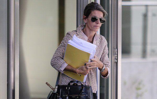 La jueza Sandra Arroyo Salgado, la ex mujer del fiscal Alberto Nisman.