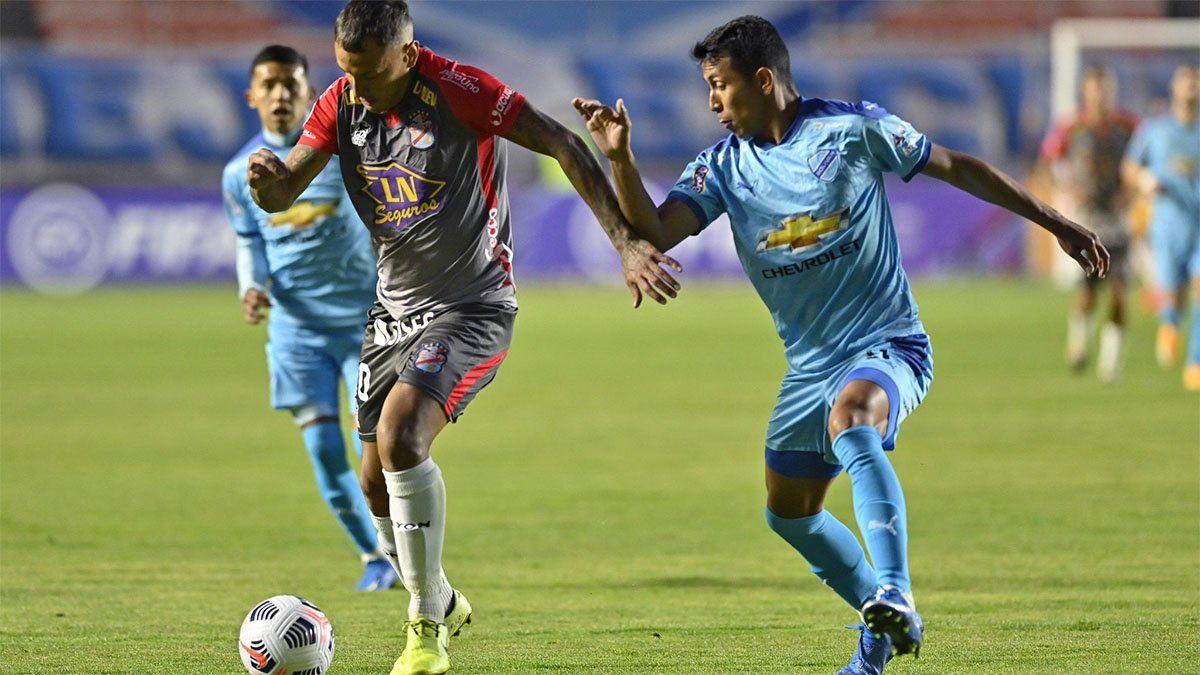 Arsenal cayó ante Bolívar en la altura de La Paz
