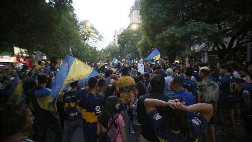La Comuna de Capital multó al club e hinchas de Boca Juniors por cortar calles