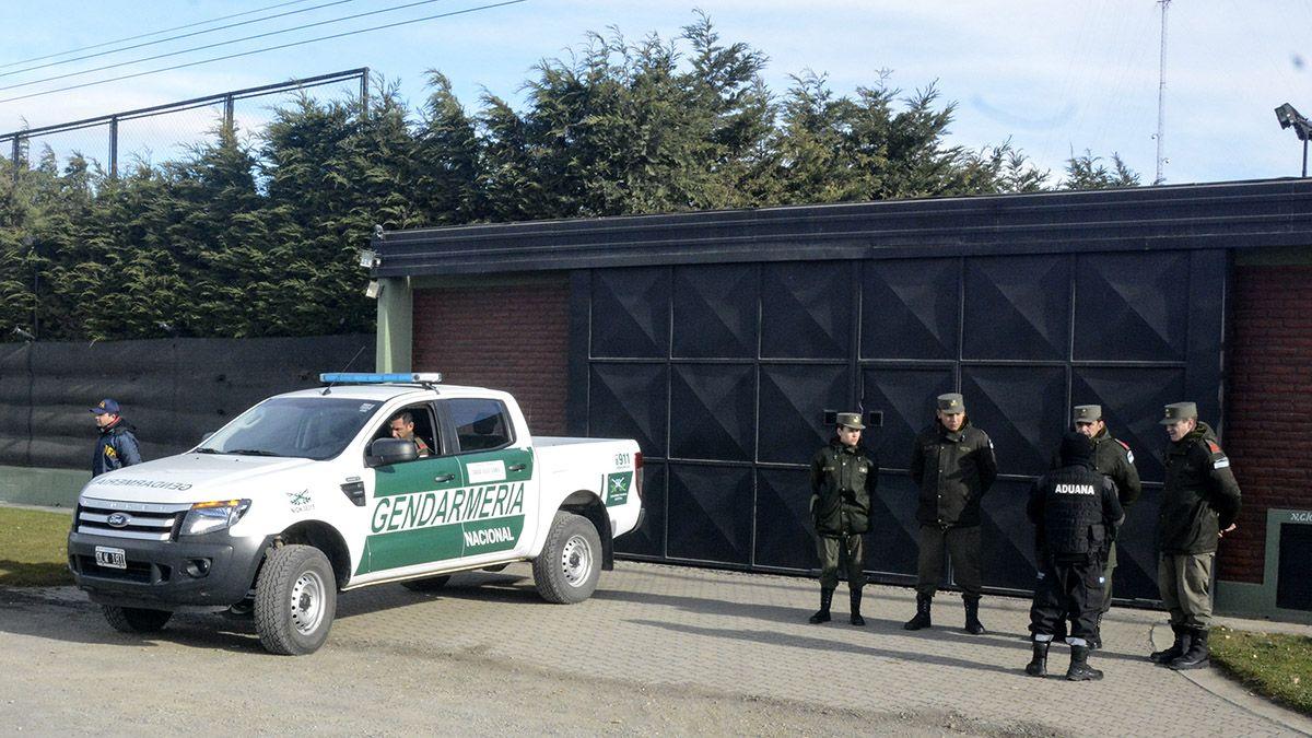 Son unos 480 los gendarmes asignados a la custodia de las propiedades de Lázaro Báez en Santa Cruz.