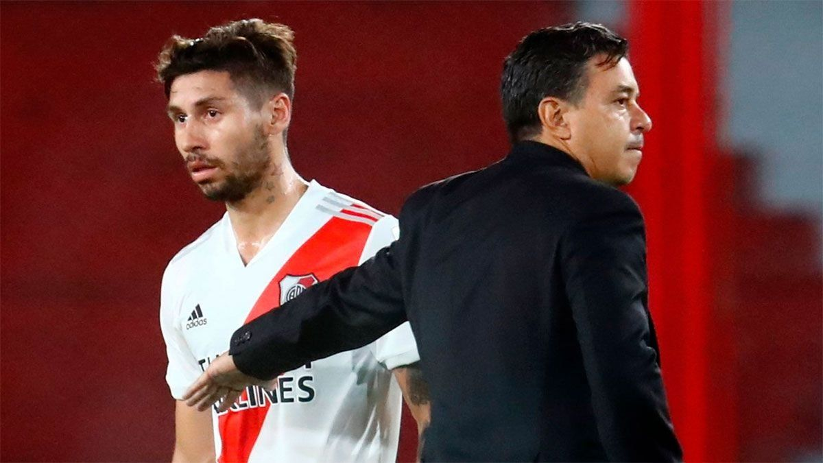 Los dirigentes de River no descartan que Montiel sea vendido.