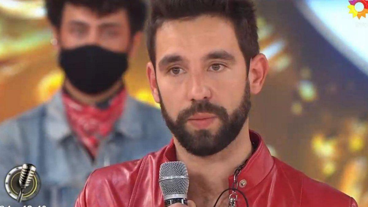 Agustín Sierra se emocionó en la sentencia del Cantando 2020
