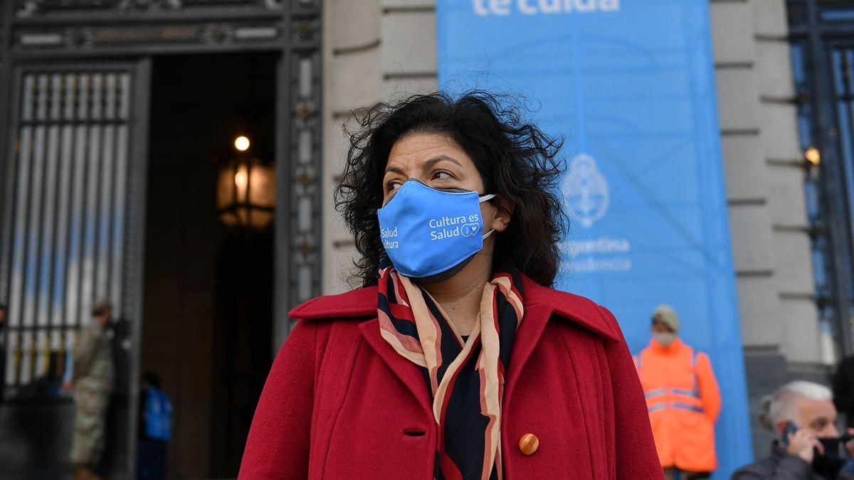 La ministra Carla Vizzotti aclaró algunos aspectos sobre el decreto que permitirá la compra de vacunas.