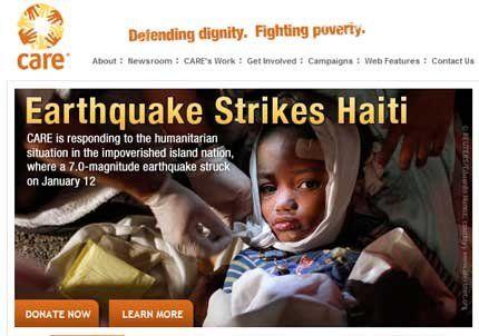 Cómo ayudar a Haití desde Internet