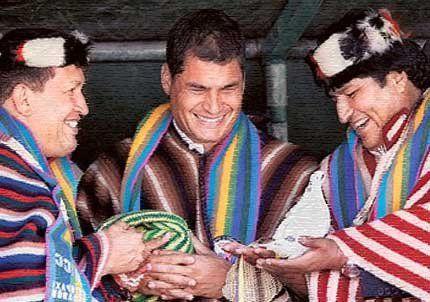 Rafael Correa lleva 3 años en el poder