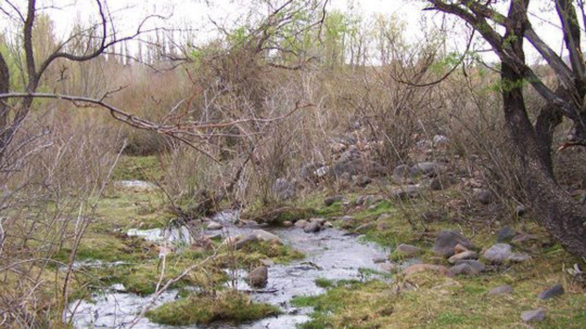 Los arroyos de El Manzano.
