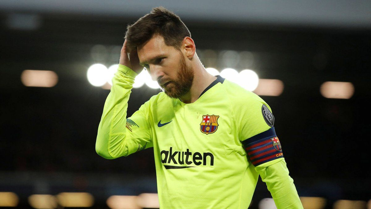 Messi se puso firme y no se presentó en el Barcelona