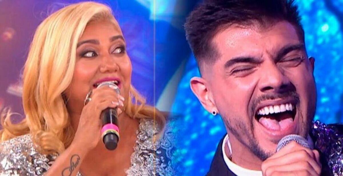 Gladys La Bomba Tucumana y Tyago Griffo