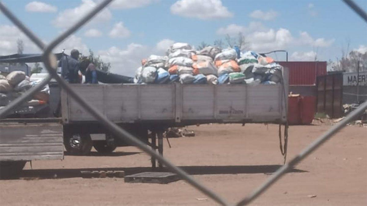 Encontraron 20 mil kilos de cobre en Maipú