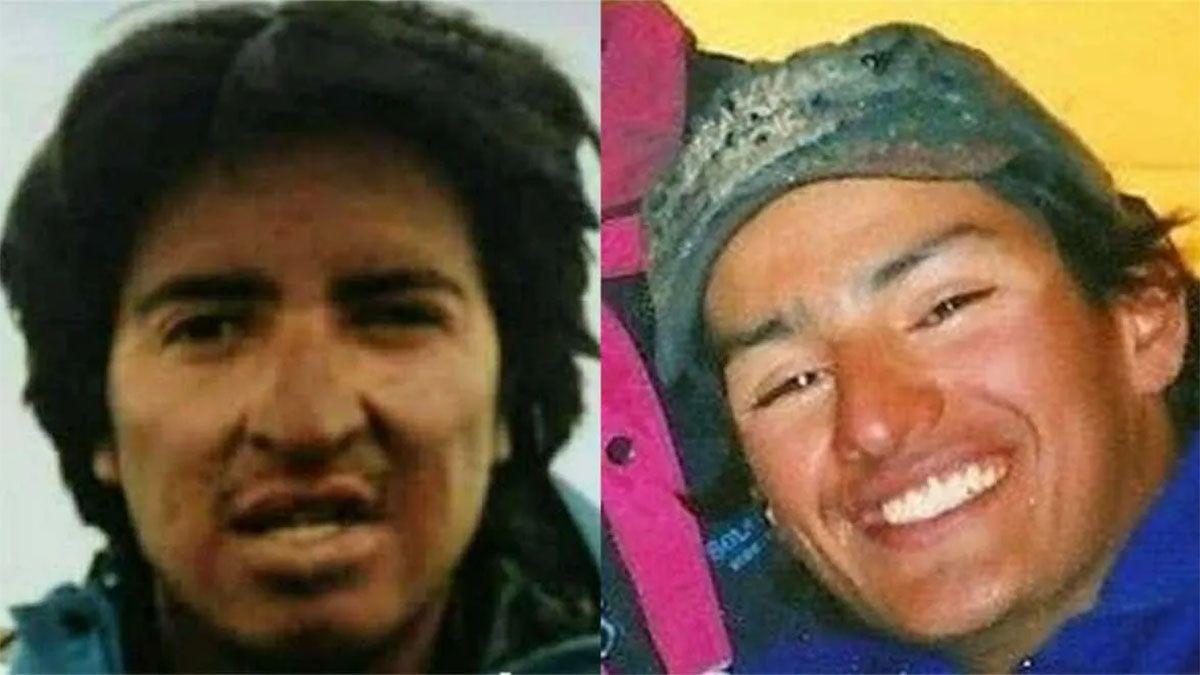 Los andinistas que se perdieron hace 25 años.